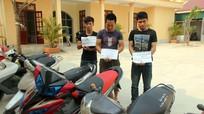 Ổ nhóm chuyên trộm cắp xe máy sa lưới