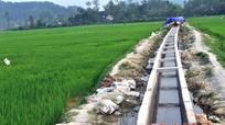 Hưng Yên Nam: Khó khăn nguồn nước tưới cho nông nghiệp.