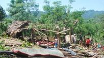 Mưa giông, lốc xoáy gây thiệt hại nặng tại xã Châu Thuận (Quỳ Châu)