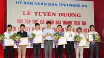 Tuyên dương thí sinh đạt giải cao tại Hội thi tay nghề toàn quốc 2014