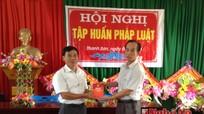 Sở Tư pháp Nghệ An: Trợ giúp pháp lý cho xã Thanh Sơn