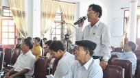 Đồng chí Lê Xuân Đại tiếp xúc cử tri phường Nghi Hòa (TX Cửa Lò)