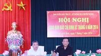 Hội nghị giao ban báo chí tháng 6 năm 2014
