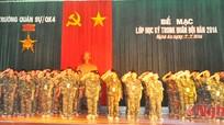 Bế mạc lớp học kỳ trong quân đội khóa 2 năm 2014