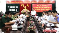 Giao ban thi đua khối Nội chính – Lực lượng vũ trang