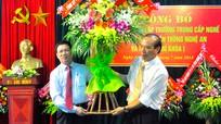Công bố QĐ thành lập trường Trung cấp nghề CN và TT Nghệ An