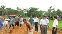 Hùng Sơn (Anh Sơn): Duy tu, bảo dưỡng đường giao thông nông thôn