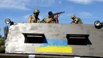 Biên phòng Ukraine thông báo rút lui vì bị xe tăng Nga tấn công