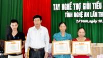 Liên minh HTX tỉnh tổ  chức thi tay nghề thợ giỏi
