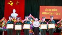 Trường Cao đẳng nghề số 4-Bộ Quốc phòng: Khai giảng năm học mới