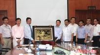 Phối hợp xây dựng Nghệ An trở thành Trung tâm CNTT vùng Bắc Trung Bộ