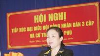 Đại biểu HĐND tỉnh tiếp xúc cử tri xã Nghi Phú, Thành phố Vinh