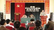 Quế Phong: Đại biểu HĐND tỉnh tiếp xúc cử tri xã Quang Phong