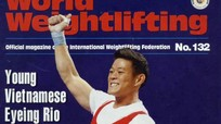 Thạch Kim Tuấn lên bìa tạp chí Cử tạ thế giới