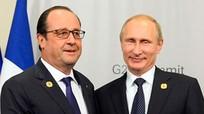 Cuộc gặp bất ngờ giữa Hollande và Putin tại Moscow