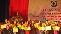 Kỷ niệm 55 năm thành lập Trường Cao đẳng Sư phạm Nghệ An