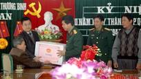 Bộ Tư lệnh QK4 thăm các đơn vị chăm sóc, nuôi dưỡng thương bệnh binh