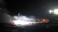 Hai thủy thủ Việt Nam mất tích trong vụ cháy tàu cá Hàn Quốc