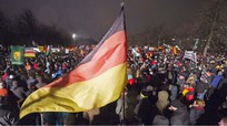 """Đức: """"Giằng co"""" giữa các cuộc biểu tình"""