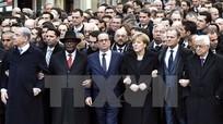 Pháp: Hơn 40 nhà lãnh đạo thế giới tuần hành cùng người dân