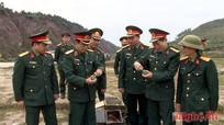 Quân khu 4: Nghiệm thu lựu đạn LĐ-09 đạt kết quả cao