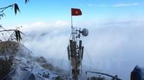 """Mạng di động đầu tiên """"lên sóng"""" trên đỉnh Phan Xi Păng"""