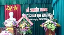 Công an tỉnh Nghệ An tổ chức triển khai công tác giám định súng đạn