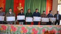 Sở Giao thông Vận tải: 168 triệu đồng hỗ trợ xã Keng Đu dịp tết