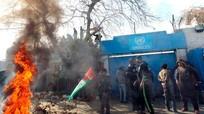 Gaza: Biểu tình trước cơ quan đại diện của Liên Hợp Quốc