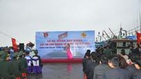 Lễ ra quân xây dựng cột cờ Tổ quốc tại đảo Mắt
