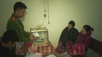 Công an Nghi Lộc bắt hai đối tượng mua bán, tàng trữ ma túy