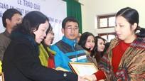 Trao giải cuộc thi Giáo án hoạt động giáo dục hướng nghiệp