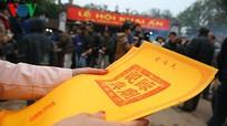 Lễ hội Khai ấn Đền Trần 2015 phục dựng đầy đủ nghi lễ truyền thống
