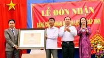 Di tích Đình Đồng đón nhận bằng di tích lịch sử cấp tỉnh