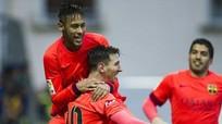 """Vòng 27 La Liga: Barca, Real chạy đà cho trận đấu """"siêu kinh điển"""""""