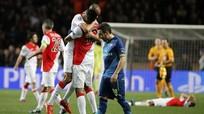 Arsenal thắng Monaco 2-0 vẫn bật bãi Champions League