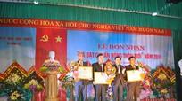 Xã Nghĩa Thuận, Hưng Lộc đón nhận xã đạt chuẩn Quốc gia NTM