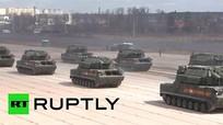 Dàn vũ khí Nga diễn tập chuẩn bị Ngày Chiến thắng