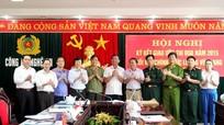 Khối nội chính và lực lượng vũ trang ký kết giao ước thi đua