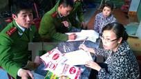 Hưng Yên: Phát hiện cơ sở làm giả hơn 1 tấn mỳ chính Ajinomoto