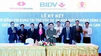 Ký kết Hợp đồng tín dụng Dự án nhà máy xi măng Sông Lam