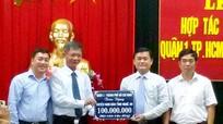 Lễ ký kết hợp tác giữa Quận I (TP.Hồ Chí Minh) và huyện Nam Đàn