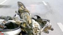 Diễn Châu: Xe máy đâm ô tô, 1 người trọng thương