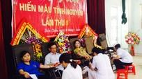 Ngày hội hiến máu tình nguyện ở Diễn Châu