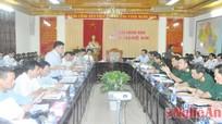 Đẩy nhanh tiến độ dự án xi măng Sông Lam