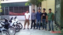 Công an Diễn Châu phá chuyên án trộm cắp xe máy