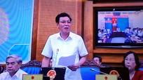 Bộ trưởng GD-ĐT báo cáo về kỳ thi tốt nghiệp THPT quốc gia 2015
