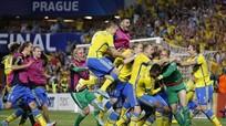 Thụy Điển vô địch U21 châu Âu sau loạt luân lưu cân não