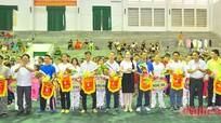 284 VĐV tham gia giải vô địch Wushu trẻ toàn quốc năm 2015