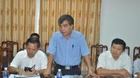 Chỉ đạo quyết liệt, đẩy nhanh tiến độ dự án Nhà máy xi măng Sông Lam